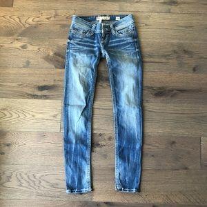 BKE Denim Stella Skinny Jeans - Size 25 x 31.5